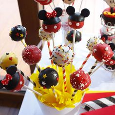 Sin Recetas » Candy Bar Mickey y Minnie