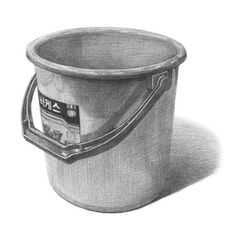 26 Cleaning Supplies Pencil Drawing Ideas - New Pencil Drawing Inspiration, Pencil Sketch Drawing, Art Drawings Sketches Simple, Pencil Art Drawings, Realistic Drawings, Cool Drawings, Drawing Ideas, Still Life Sketch, Still Life Drawing