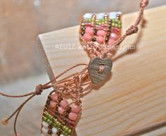Loomed Bead Bracelet Bird Design Custom Handmade by kathykdesigns, $99.00