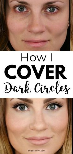 How to Cover Dark Under Eye Circles - Hello Gorgeous, by Angela Lanter - Care - Skin care , beauty ideas and skin care tips Beauty Care, Beauty Skin, Diy Beauty, Beauty Secrets, Beauty Ideas, Beauty Products, Face Beauty, Homemade Beauty, Beauty Guide