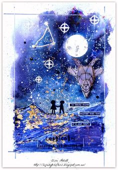 Our 'Written in the Stars' collection of zodiac stamps include zodiac symbols in a really cool geometric design, star constellations, and character traits Goat Art, Art Journal Pages, Art Journaling, Art Journal Tutorial, Image Stamp, Star Constellations, Zodiac Symbols, Zodiac Capricorn, Deco