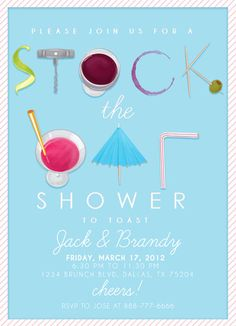 Stock the Bar Shower by Rachel Luetkemeyer