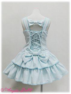 Angelic Pretty - Candy Girl JSK - Back