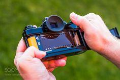 Old vintage camera - film loading by br3kkancs