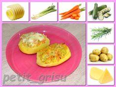 Okra, Baked Potato, Potatoes, Yummy Food, Baking, Breakfast, Ethnic Recipes, Morning Coffee, Gumbo