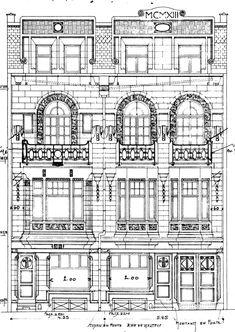 Etterbeek - Rue Louis Hap 132, 134 - SERVAIS Georges