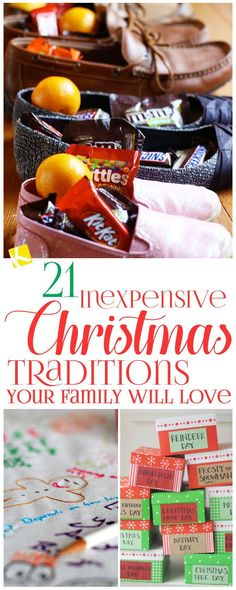 Starting a tradition can bring a family even closer together. Here are 21 traditions that will cost you very little or nothing at all, but the memories they instill will last a lifetime.