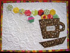 Mug Rug Done! | Flickr - Photo Sharing!