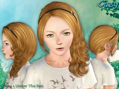 Cazy's Under The Sun - Hairstyle Set