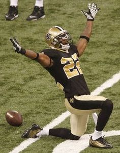 New Orleans Saints.  Tracy Porter.