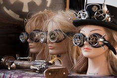 steampunk dolls by hans s, via Flickr