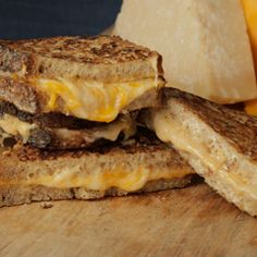 Lots of cheese, Best Foods Mayonnaise, crispy golden-brown bread. This Fancy Grilled 3 Cheese Sandwich using Best Foods Mayonnaise is easy to make, perfect for summer, and simply succulent. Grill Cheese Sandwich Recipes, Grilled Sandwich, The Chew Recipes, Summer Snacks, Wrap Sandwiches, Delicious Sandwiches, So Little Time, Finger Foods, Love Food