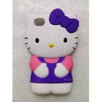 3D HELLO KITTY IPHONE CASE FOR iPhone 4 4S (Purple)
