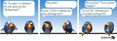 nouvelle orthographe - Recherche Google Recherche Google, Images, Birds, I Want You, Quote, Language, Blue, Bird