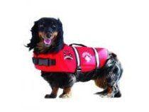 Hunter K9 Designs R1100 Neoprene Dog Life Jacket - Red