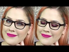 Makeup For Glasses Wearers Tutorial | Phoenix Cosmetics - YouTube