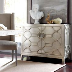Treviso Two Door Accent Chest - Brownstone Furniture
