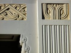 Maori Art Deco detail