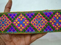 Sari Border Crafting Sewing Trim By The Yard