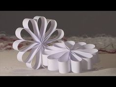 noel deco !! Christmas decoration !! rosace boucle papier diy - YouTube