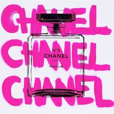 Art by Shane Bowden for sale Chanel Chanel Chanel White Bedroom Wall Collage, Photo Wall Collage, Picture Wall, Coco Chanel, Parfum Paris, Chanel Wallpapers, Pink Photo, Fashion Wall Art, Pink Walls