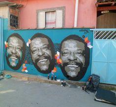 Stencil- 5 camadas - Martinho da Vila