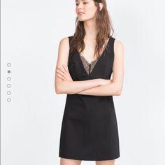 Zara lace dress Brand new with tag. Size medium Zara Dresses