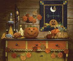 Spooktacular Halloween yo yos by Debbie Mumm