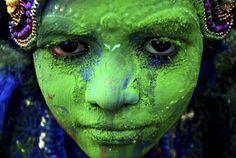 Holi festival 2014 Ph Credits nationalgeographic.it #green