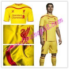 Schonste Neues Liverpool (LFC) Suarez 7 Warrior Sports Away Fussball Trikot 2014 2015 Billig Günstig Shops Online