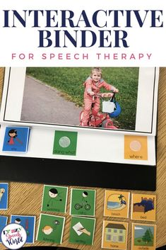 This language expansion interactive binder is an adapted book to increase student's language use through WH questions, expanded sentences, pronouns, and more!  Great for special education, speech therapy, and elementary age classrooms.