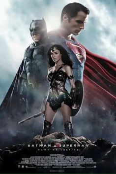 DC Trinity - Batman v Superman: Dawn Of Justice Posters Batman, Batman Vs Superman Poster, Batman Batman, Art Posters, Clark Kent, Dc Trinity, Superman Dawn Of Justice, Univers Dc, The Blues Brothers