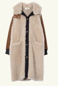 Coat Women Marni - Shop the official Virtual Store Looks Style, Style Me, Look Fashion, Womens Fashion, Fashion Design, Fashion Shoes, Girl Fashion, Winter Stil, Winter Coat