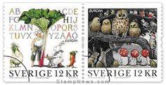 Sweden -  Europa 2010 Children's books