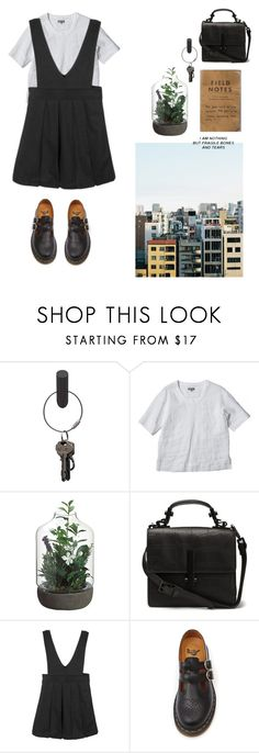 """failure by design"" by smellsliketeenboredom on Polyvore featuring PA Design and Dr. Martens"