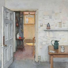 Interior with objects. Charles Hardaker