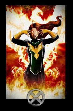 Jean Grey Phoenix, Dark Phoenix, Marvel Girls, Marvel Art, Phoenix Marvel, Phoenix Force, Phoenix Images, Comic Book Heroines, Grey Pictures