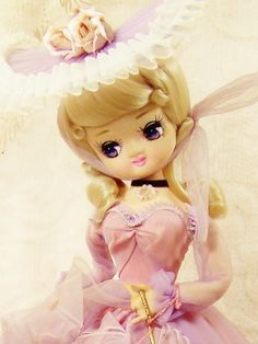 bradey dolls | Vintage Artmark Bradley Big Eye Boudoir Cloth Doll Lavender Dress ...