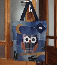 Джинсовая сумка сова ручная работа Ручная Работа за 375 грн.