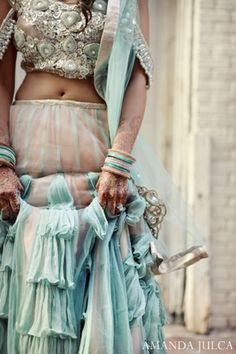 Pretty reception outfit