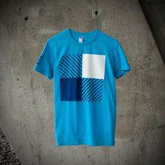 T-shirt Homme Bûcheron moderne design par MoustacheMoutarde sur Etsy
