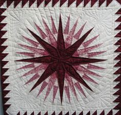 Mariner Compass Quilt - love this design