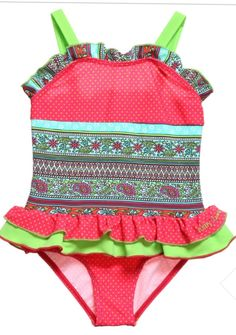 Good Disney Frozen 2-piece Bikinin Swimsuit 2t Purple Toddler Girl Floral Anna Elsa Finely Processed Girls' Clothing (newborn-5t)
