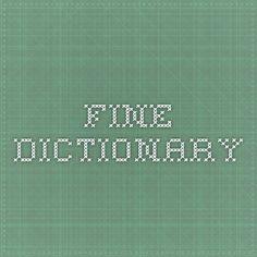 Fine Dictionary