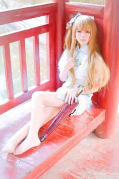 Dong Fang Zhi Zi Chinese UTAU cosplay