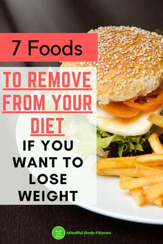 If you want to lose weight, you need to avoid eating these 7 unhealthy foods as they seriously increase your calorie intake. Eating any of these fattening foods is gonna make weight loss that much harder work than it needs to be. Discover the 7 foods to avoid that cause weight gain and to never eat. #weightloss #fitness #cleaneating #weightlosstips #loseweight #healthyeating #motivation