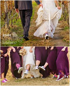 Convers sneakers, bridal party, fun bridal part shot, Outer Banks wedding, Sanctuary Vineyards wedding, www.beachvineyardwedding.com, Vineyard wedding, farm wedding, Candace Owens for Brooke Mayo Photographers, www.brookemayo.com