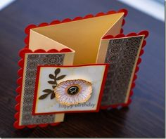so cool!  scallop square card! (so far this website is filled with cute ideas!)