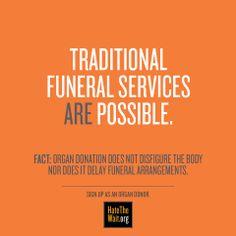 Fact vs. myth about organ donation #hatethewait #donatelife