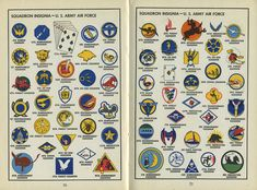 "Vintage Military Design: ""United States Service Symbols"" - Print Magazine"